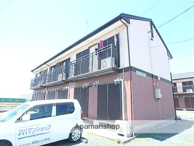 静岡県磐田市、磐田駅遠鉄バスバス25分中平松東下車後徒歩5分の築25年 2階建の賃貸アパート