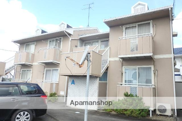 静岡県袋井市、袋井駅徒歩34分の築28年 2階建の賃貸アパート