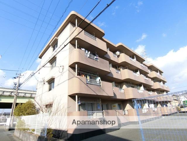静岡県袋井市、袋井駅徒歩20分の築21年 4階建の賃貸マンション