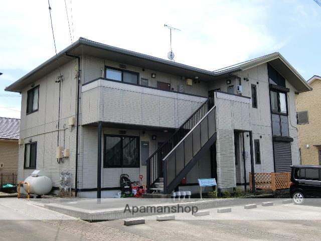 静岡県袋井市、磐田駅遠鉄バスバス35分梅山下車後徒歩6分の築15年 2階建の賃貸アパート