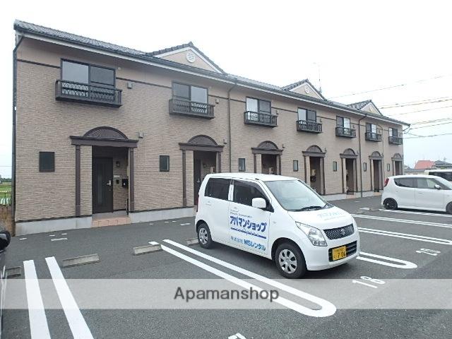 静岡県袋井市、袋井駅遠鉄バスバス30分太郎助下車後徒歩5分の築10年 2階建の賃貸テラスハウス