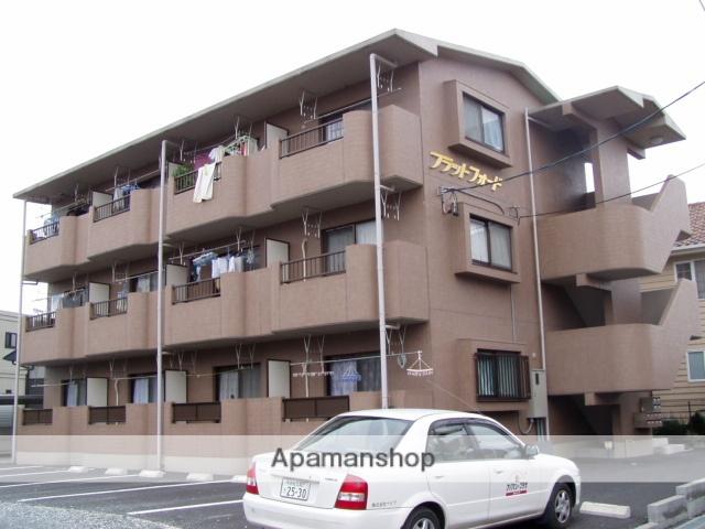 静岡県袋井市、袋井駅遠鉄バスバス5分袋井中央町下車後徒歩2分の築16年 3階建の賃貸マンション
