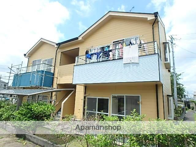 静岡県袋井市、袋井駅徒歩17分の築24年 2階建の賃貸アパート