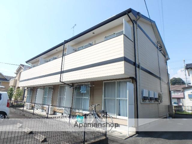 静岡県袋井市、袋井駅バス8分袋井高校入口下車後徒歩2分の築20年 2階建の賃貸アパート