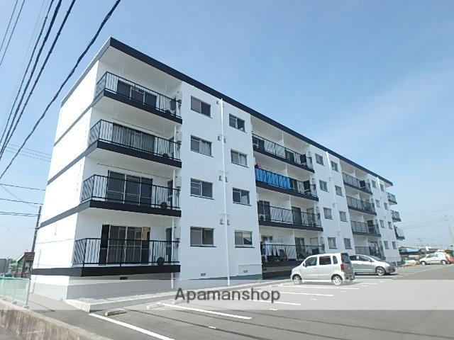 静岡県磐田市、磐田駅徒歩32分の築45年 4階建の賃貸マンション