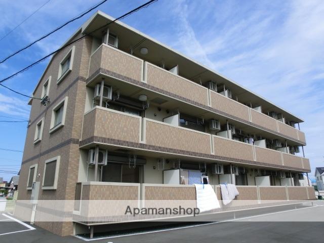 静岡県磐田市、磐田駅遠鉄バスバス7分千手堂下車後徒歩3分の築7年 3階建の賃貸マンション