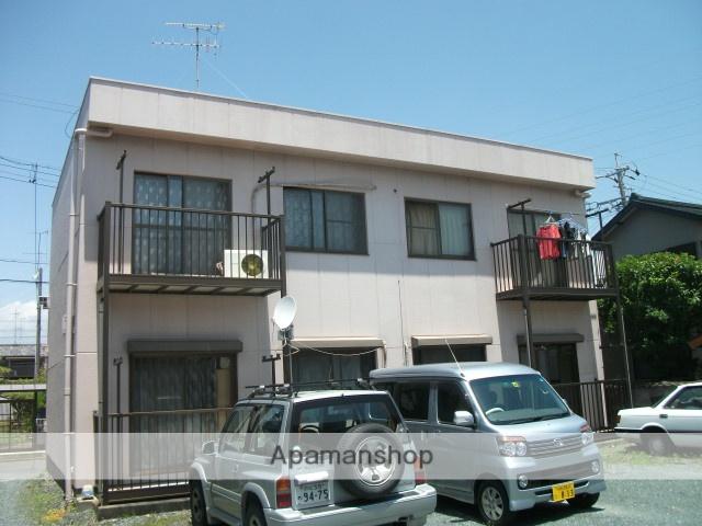 静岡県袋井市、袋井駅しずてつバス10分永楽町下車後徒歩10分の築26年 2階建の賃貸アパート