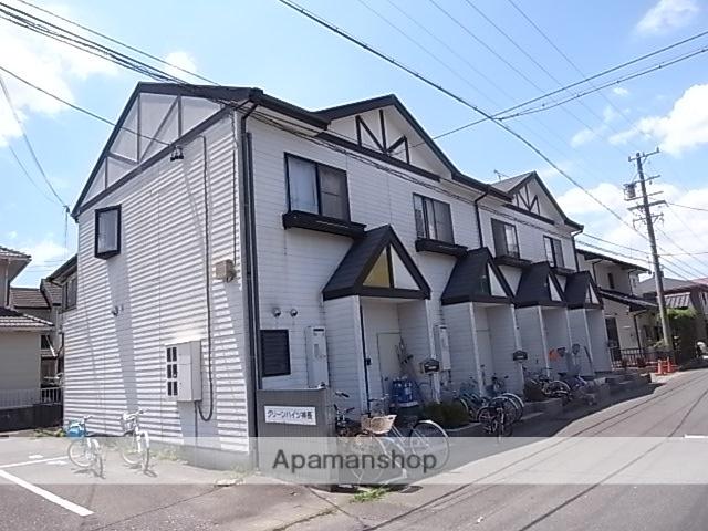 静岡県袋井市、袋井駅徒歩25分の築18年 2階建の賃貸テラスハウス
