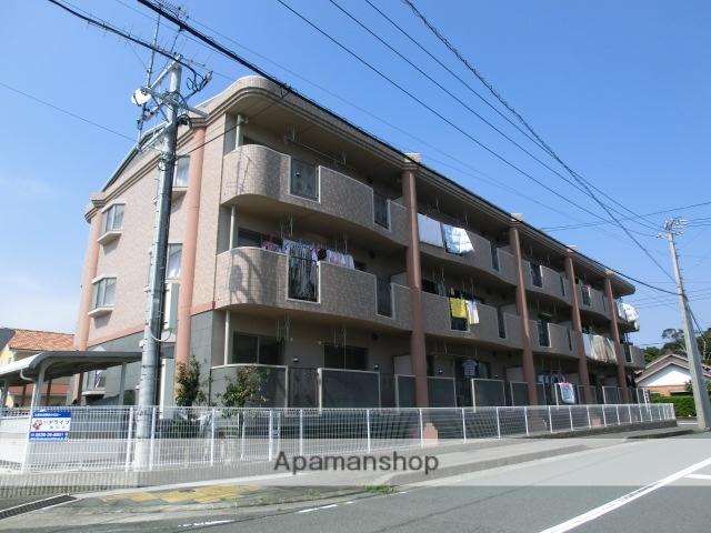 静岡県磐田市、磐田駅遠鉄バスバス12分東大久保下車後徒歩9分の築14年 3階建の賃貸マンション