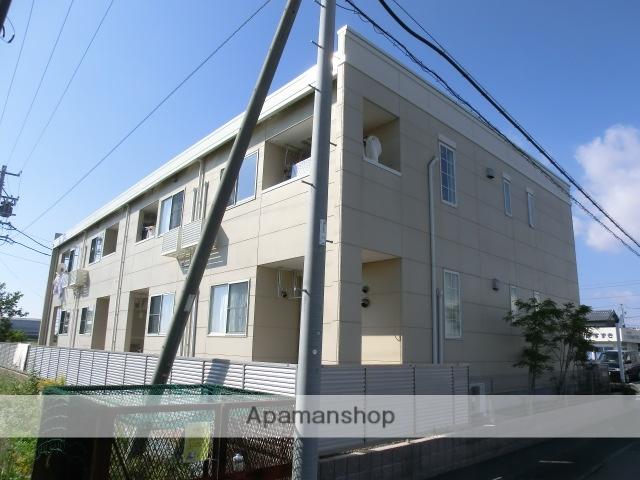 静岡県磐田市、磐田駅遠鉄バスバス15分中大原下車後徒歩2分の築5年 2階建の賃貸アパート