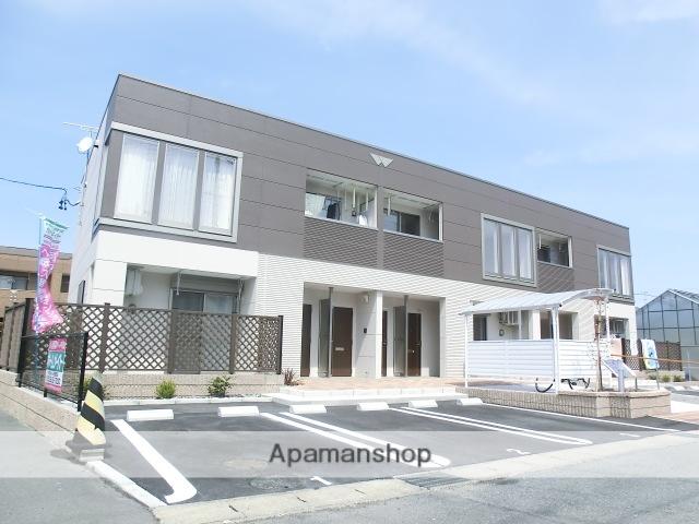 静岡県磐田市、磐田駅遠鉄バスバス7分千手堂下車後徒歩3分の築3年 2階建の賃貸アパート
