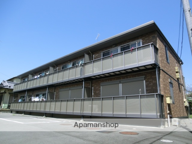 静岡県袋井市、袋井駅メローバスバス25分湊西下車後徒歩4分の築11年 2階建の賃貸アパート
