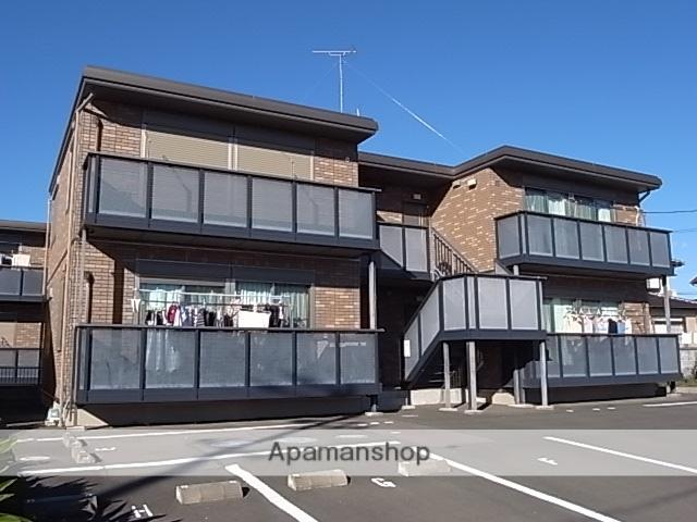 静岡県袋井市、袋井駅バスバス30分新岡崎下車後徒歩8分の築10年 2階建の賃貸アパート