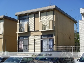 静岡県磐田市、磐田駅徒歩20分の築30年 2階建の賃貸アパート
