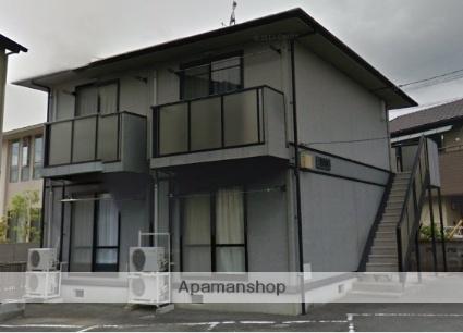 静岡県浜松市浜北区、遠州岩水寺駅徒歩23分の築18年 2階建の賃貸アパート