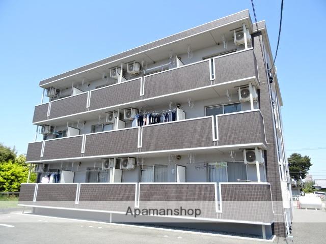 静岡県浜松市南区、浜松駅遠鉄バスバス18分貝まぐり下車後徒歩3分の築4年 3階建の賃貸マンション
