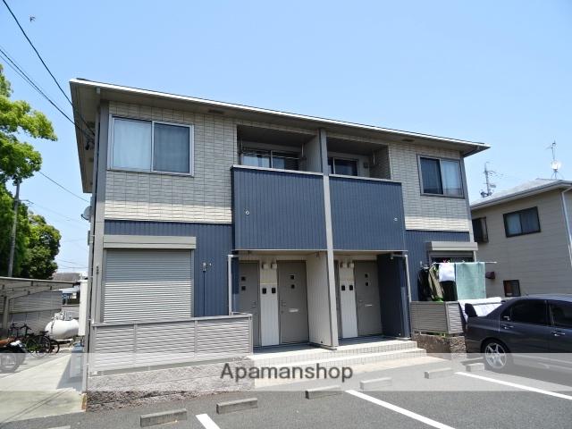 静岡県浜松市南区、浜松駅遠州鉄道バスバス14分東若林下車後徒歩2分の築9年 2階建の賃貸アパート