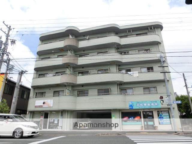 静岡県浜松市東区、天竜川駅徒歩8分の築27年 5階建の賃貸マンション