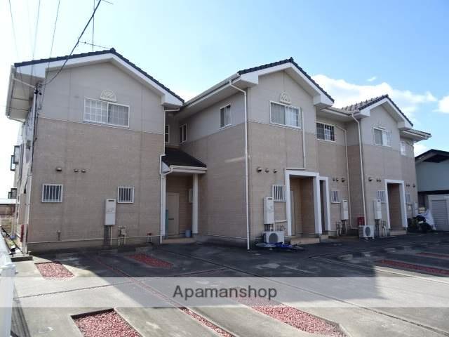 静岡県浜松市東区、浜松駅遠鉄バスバス20分上新屋南下車後徒歩5分の築13年 2階建の賃貸テラスハウス