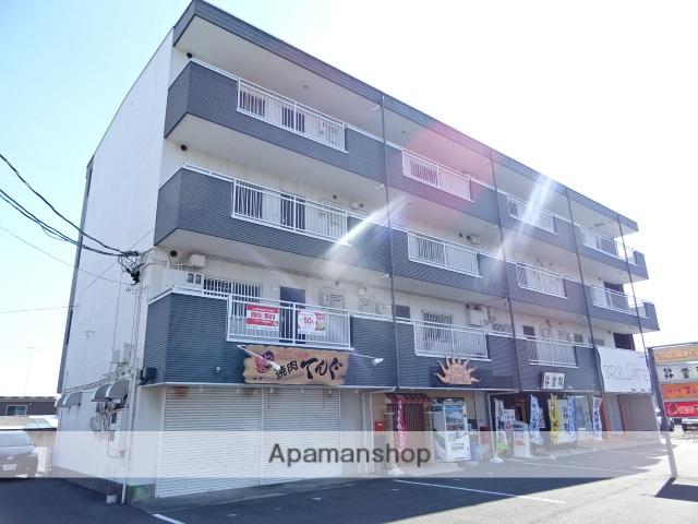静岡県浜松市南区、高塚駅徒歩15分の築30年 4階建の賃貸マンション