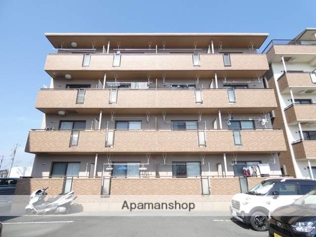 静岡県浜松市東区、天竜川駅徒歩15分の築10年 4階建の賃貸マンション