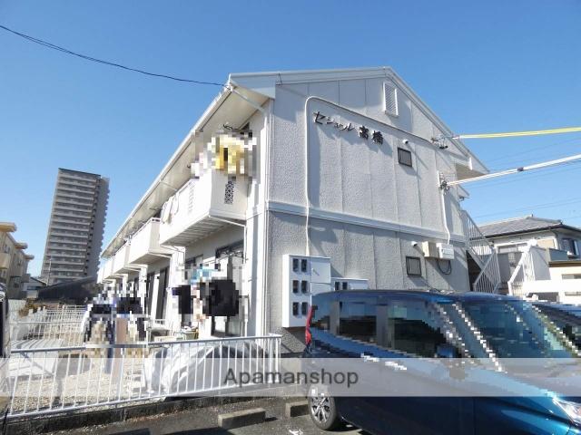 静岡県浜松市中区、浜松駅遠州鉄道バスバス20分上島下車後徒歩5分の築25年 2階建の賃貸アパート