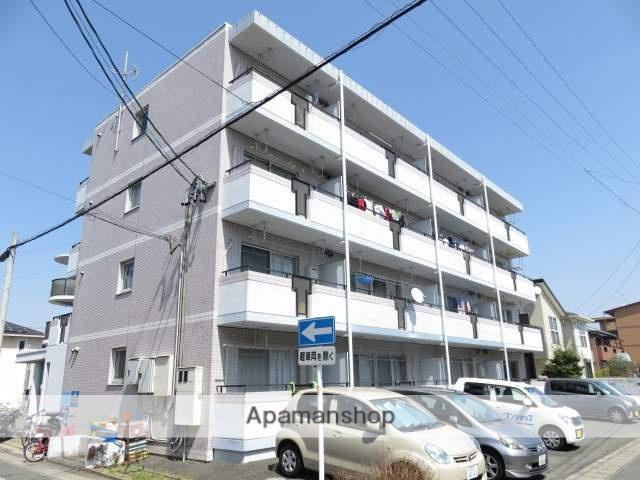 静岡県浜松市中区、浜松駅遠州鉄道バス6分相生下車後徒歩6分の築28年 4階建の賃貸マンション