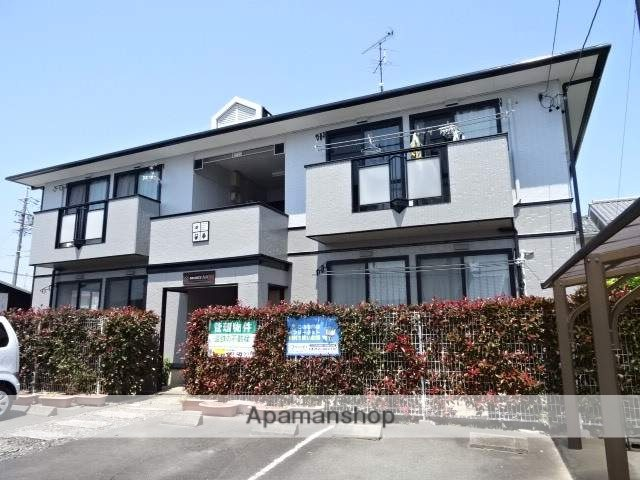 静岡県浜松市中区、浜松駅バス5分南中前下車後徒歩9分の築20年 2階建の賃貸アパート