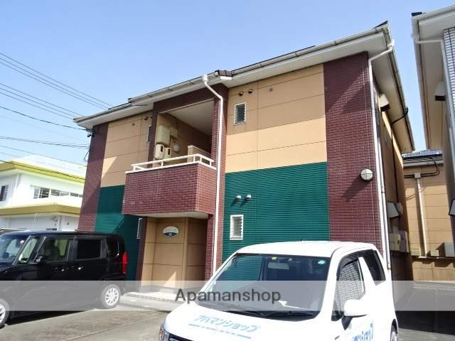静岡県浜松市中区、浜松駅遠鉄バスバス25分瑞穂橋下車後徒歩3分の築18年 2階建の賃貸アパート