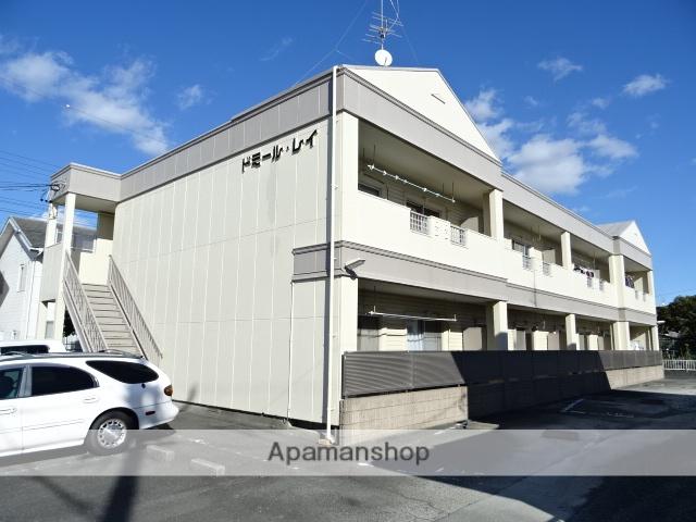静岡県浜松市南区、浜松駅バス22分可美市民サービスセンター下車後徒歩3分の築26年 2階建の賃貸アパート