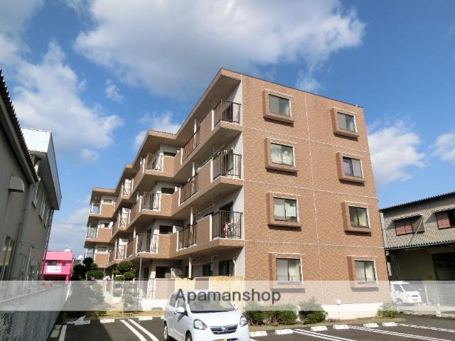 静岡県浜松市東区、天竜川駅徒歩7分の築30年 4階建の賃貸マンション