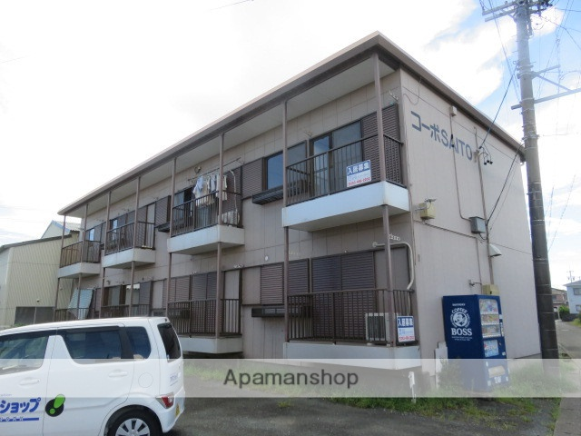 静岡県浜松市南区、浜松駅遠鉄バスバス10分本郷南下車後徒歩8分の築32年 2階建の賃貸アパート