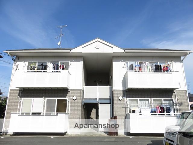 静岡県浜松市中区、浜松駅徒歩17分の築15年 2階建の賃貸アパート