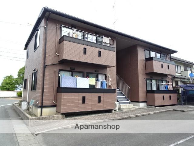 静岡県浜松市浜北区、浜北駅徒歩16分の築15年 2階建の賃貸アパート