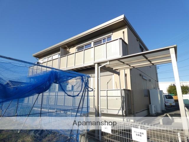 静岡県浜松市浜北区、遠州西ヶ崎駅徒歩28分の築5年 2階建の賃貸アパート
