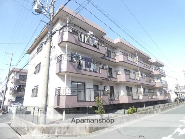 静岡県浜松市東区、天竜川駅徒歩12分の築28年 3階建の賃貸マンション