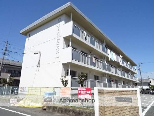 静岡県浜松市南区、天竜川駅徒歩40分の築28年 3階建の賃貸マンション