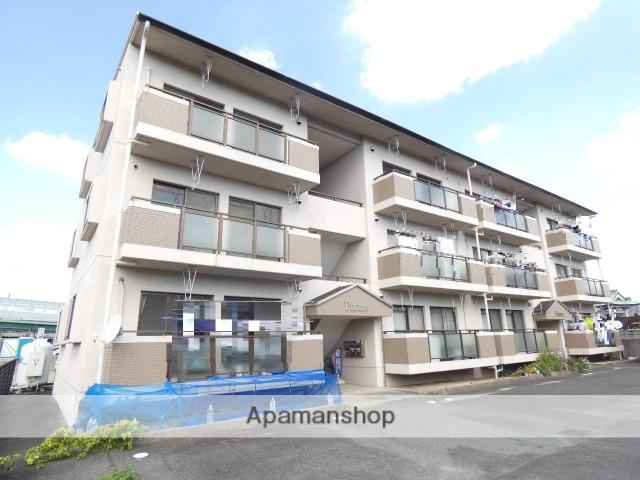 静岡県浜松市東区、天竜川駅徒歩25分の築23年 3階建の賃貸マンション