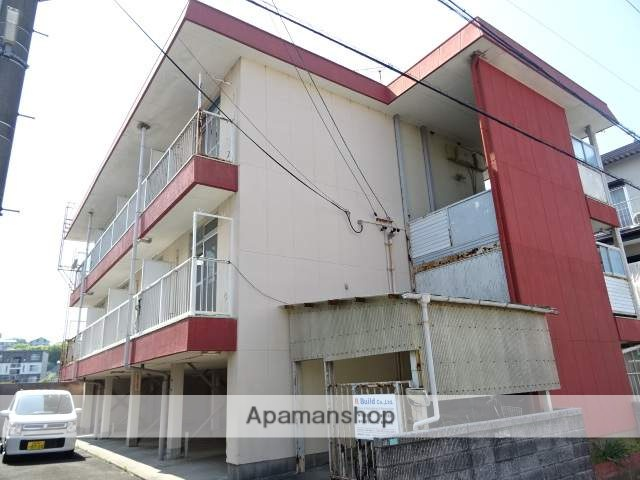 静岡県浜松市東区、浜松駅徒歩93分の築37年 3階建の賃貸マンション