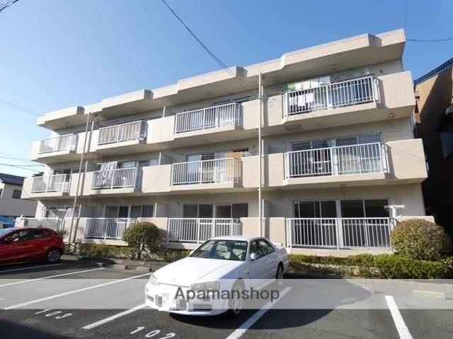 静岡県浜松市南区、浜松駅徒歩20分の築28年 3階建の賃貸マンション