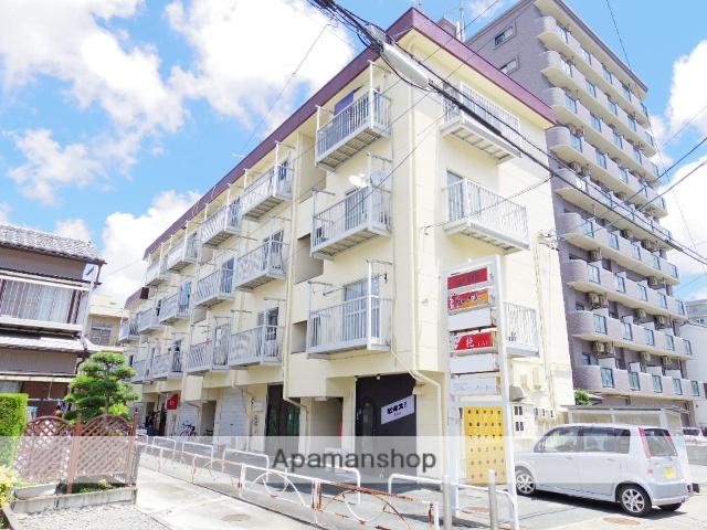 静岡県浜松市中区、浜松駅徒歩16分の築33年 4階建の賃貸マンション