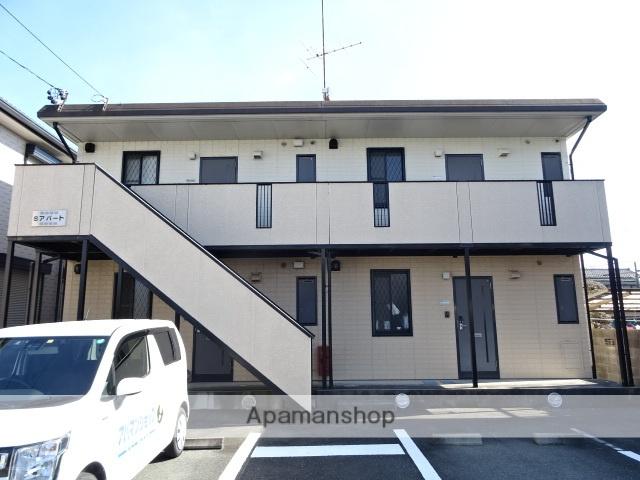 静岡県浜松市南区、天竜川駅徒歩16分の築17年 2階建の賃貸アパート