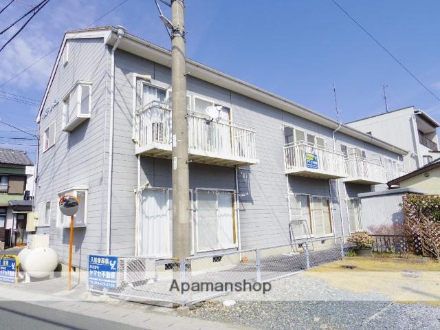 静岡県浜松市中区、浜松駅遠州鉄道バスバス13分林下車後徒歩1分の築23年 2階建の賃貸アパート
