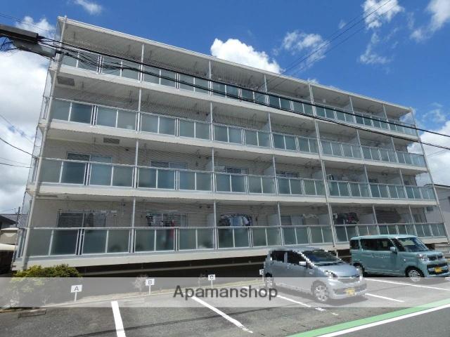 静岡県浜松市北区、浜松駅遠鉄バスバス32分三方原西下車後徒歩5分の築22年 4階建の賃貸マンション