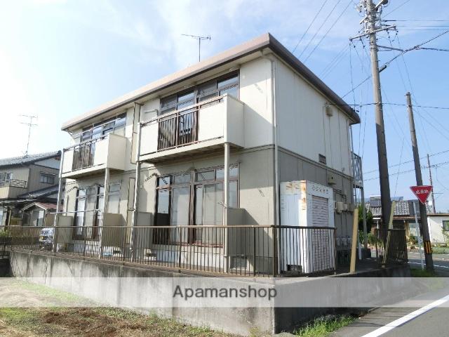 静岡県浜松市浜北区、宮口駅徒歩20分の築20年 2階建の賃貸アパート