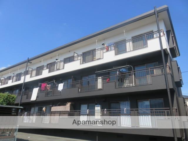 静岡県浜松市南区、浜松駅遠鉄バスバス25分安松西下車後徒歩6分の築28年 3階建の賃貸マンション