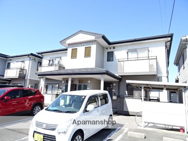 静岡県浜松市西区、浜松駅遠鉄バスバス34分柏原下車後徒歩1分の築14年 2階建の賃貸アパート