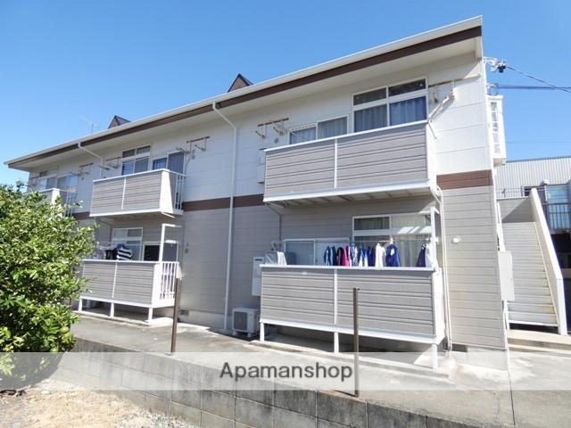静岡県浜松市浜北区、遠州小松駅徒歩12分の築22年 2階建の賃貸アパート