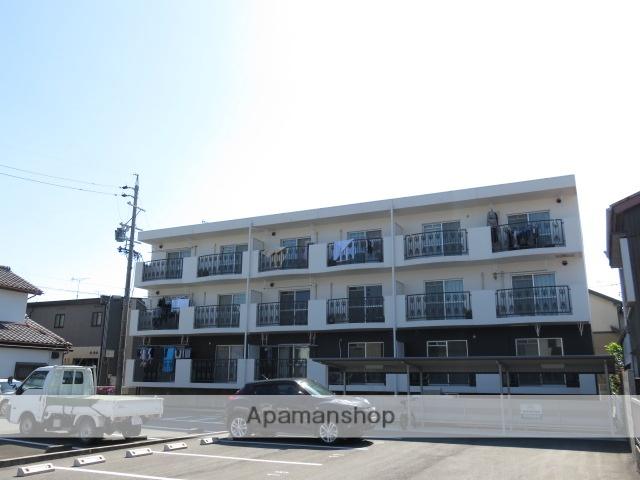 静岡県浜松市中区、浜松駅徒歩12分の築19年 3階建の賃貸マンション