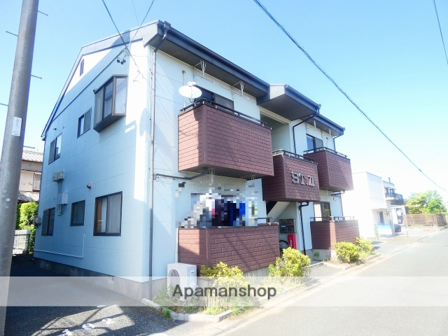 静岡県浜松市西区、浜松駅遠鉄バスバス35分坪井下車後徒歩4分の築18年 2階建の賃貸アパート